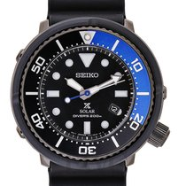 Seiko Lowercase Limited 5000 200M Diver Solar 2017 New - SBDN045
