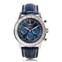 Breitling Navitimer 01 46mm Blue Steel Mens Watch AB012721/C88...
