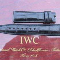 IWC 21mm black alligator strap for Pilots