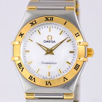 Omega Constellation MOP Stahl/Gold Klassiker B&P Luxus...