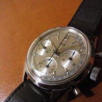 Jaeger-LeCoultre chronograph screw back