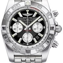 Breitling Chronomat 44  Stainless Steel Black Dial
