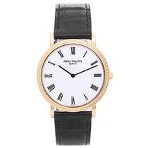 Patek Philippe Calatrava Men's 18k Yellow Gold Watch Ref...