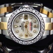 롤렉스 (Rolex) Ladies 2 Tone Rolex Yacht Master Band 29 MM 169623...
