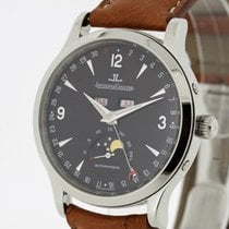 Jaeger-LeCoultre Master Moon Steel Calendar Moon Phase...