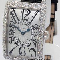 Franck Muller Long Island 18k Gold & Diamond Quartz Watch...