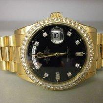 "Rolex President 118238 ""k"" Series 18k Day/date 36mm..."