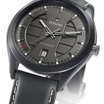 Rado HYPERCHROME THREE HANDS ULTRA LIGHT Ceramic, Leather Grey