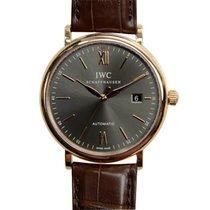 IWC Portofino 18k Rose Gold Dark Grey Automatic IW356511