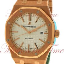 Audemars Piguet Royal Oak Automatic, Silver Dial - Rose Gold...