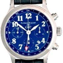 Schwarz Etienne GMT Stahl Chronograph