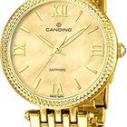 Candino Elegant C4569/2 Damenarmbanduhr mit Perlmutteinlage
