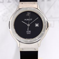 Hublot Classic MDM Lady Date Luxus Kautschuk Sportlich black