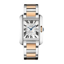 Cartier Tank Anglaise Automatic Ladies Watch Ref W5310037