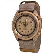 Hamilton Men H804358 Khaki Aviation Pilot Pioneer Auto Watch