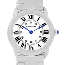 カルティエ (Cartier) Ronde Solo Stainless Steel Small Ladies Watch...