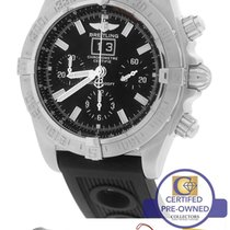 Breitling Blackbird Chronograph Big Date A44359 Black 43mm...