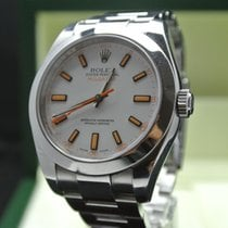 Rolex Milgauss WD 116400 m. Box aus 2007(Europe Watches)