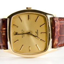 Rolex - Cellini Geel Goud - Heren Polshorloge - 1980-1989