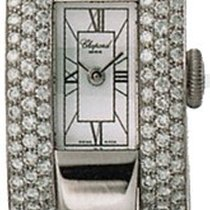 Chopard La Strada 18k White Gold Diamond Ladies Watch 416547-1...