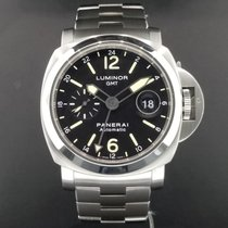 Panerai Luminor GMT Date 44mm PAM00297 S/ Steel Automatic /...