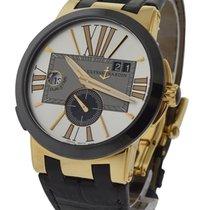 Ulysse Nardin 246-00/421 Executive Dual Time Rose Gold - on...