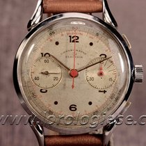 Election Chronometre – Vintage 1940`s Cornes-de Vache 38mm...