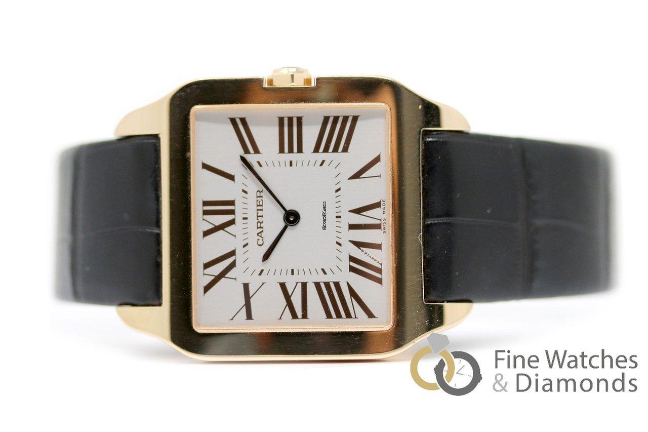 a83e8143121 Cartier Santos Dumont por R  28.162 para vender por um Trusted Seller na  Chrono24