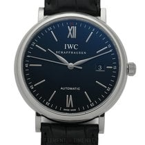 IWC Portofino Collection Stainless Steel Date Black Dial 40mm
