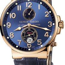 Ulysse Nardin Maxi Marine Chronometer 18K Solid Rose Gold