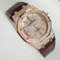Audemars Piguet Royal Oak Self Winding 41 mm Diamonds After...