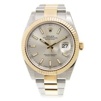 勞力士 (Rolex) Datejust Gold And Steel Silver Automatic 126333SV_O
