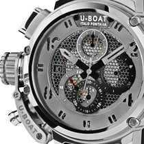 U-Boat 8065 Chimera Skeleton Tungsten Sideview Autom. Chrono...