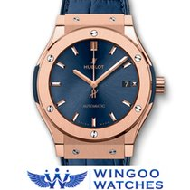Hublot - CLASSIC FUSION BLUE KING GOLD Ref. 511.OX.7180.LR
