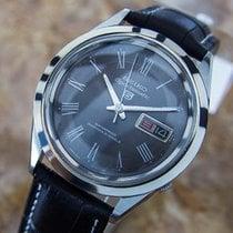 Seiko 5 Jumbo Sportsmatic Made In Japan Men's Dress Watch...