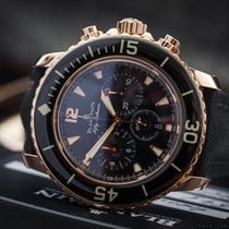 Blancpain Fifty Fathoms Flyback Chrono 18k Rose Gold