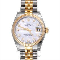 Rolex Datejust Lady 31 White MOP Steel/18k gold Dia 31mm - 178273