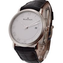 Blancpain 6651-1127-55B Villeret Ultra-Slim Automatic in Steel...