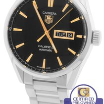 TAG Heuer Carrera Calibre 5 Day-Date Stainless Rose Gold Watch