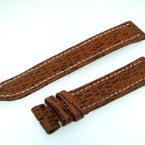 Breitling Band 18mm Brown Shark Strap Correa B18-14