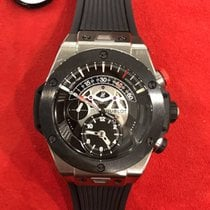Hublot Big Bang Unico Bi-Retrograde Mat Black Dial Titanium...
