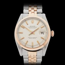 Rolex Datejust Stainless Steel & 18k Rose Gold Gents 1600...
