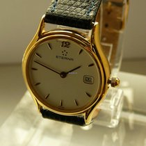 Eterna lady quartz watch, steel gold plated, Ø 26 mm, MINT(1)