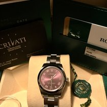 Rolex OYSTER PERPETUAL 31mm red grape