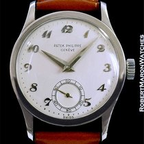Patek Philippe Vintage Calatrava Ref. 96 18k White Gold 1955