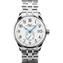 Ball Trainmaster Standard Time Chronometer NM3888D-S1CJ-WH