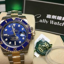Rolex Cally - 116613LB Submariner Date Blue Gold Steel Ceramic