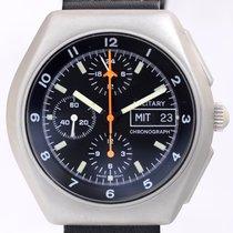 투티마 (Tutima) BUND Military Chronograph Stahl Lemania 5100...