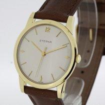 Eterna Vintage Men's Watch solid 18K Yellow Gold Cal....