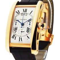Cartier W2609356 Tank Americaine - Chronograph XL - Rose Gold...